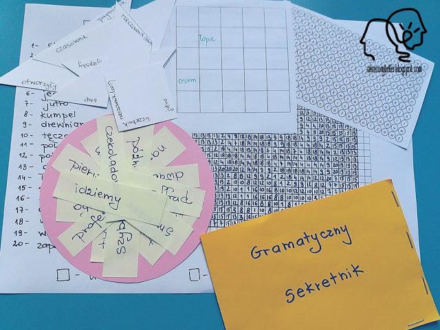 gramatyczny sekretnik, czyli kodowanie na humanie