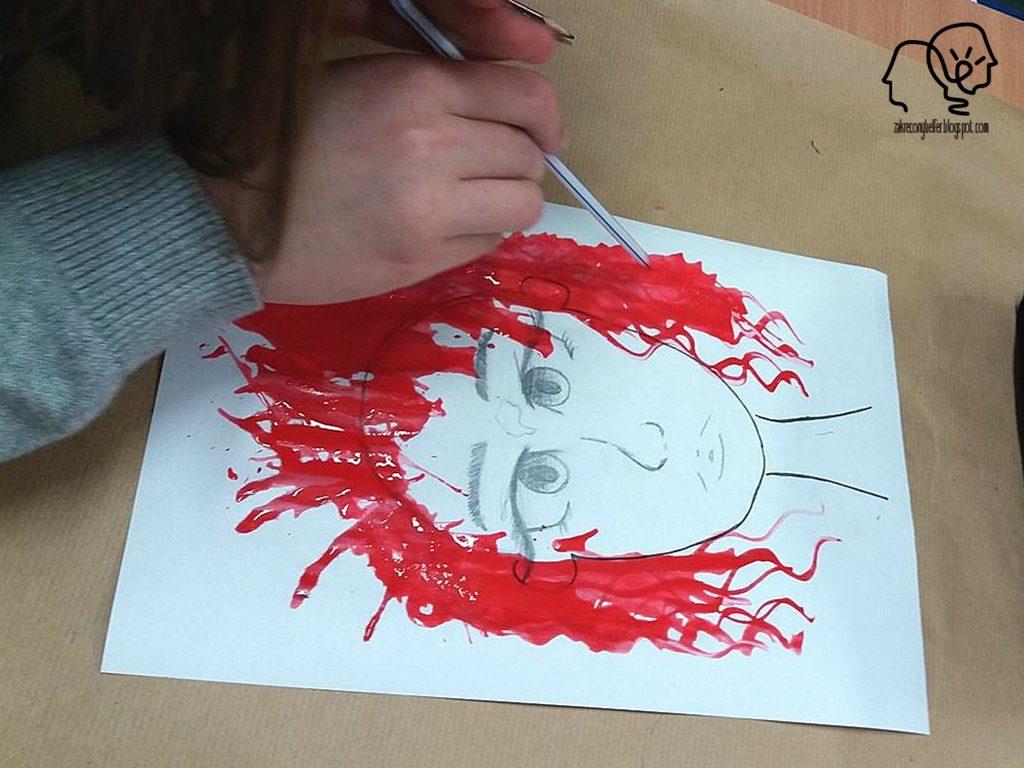 krwawy portret