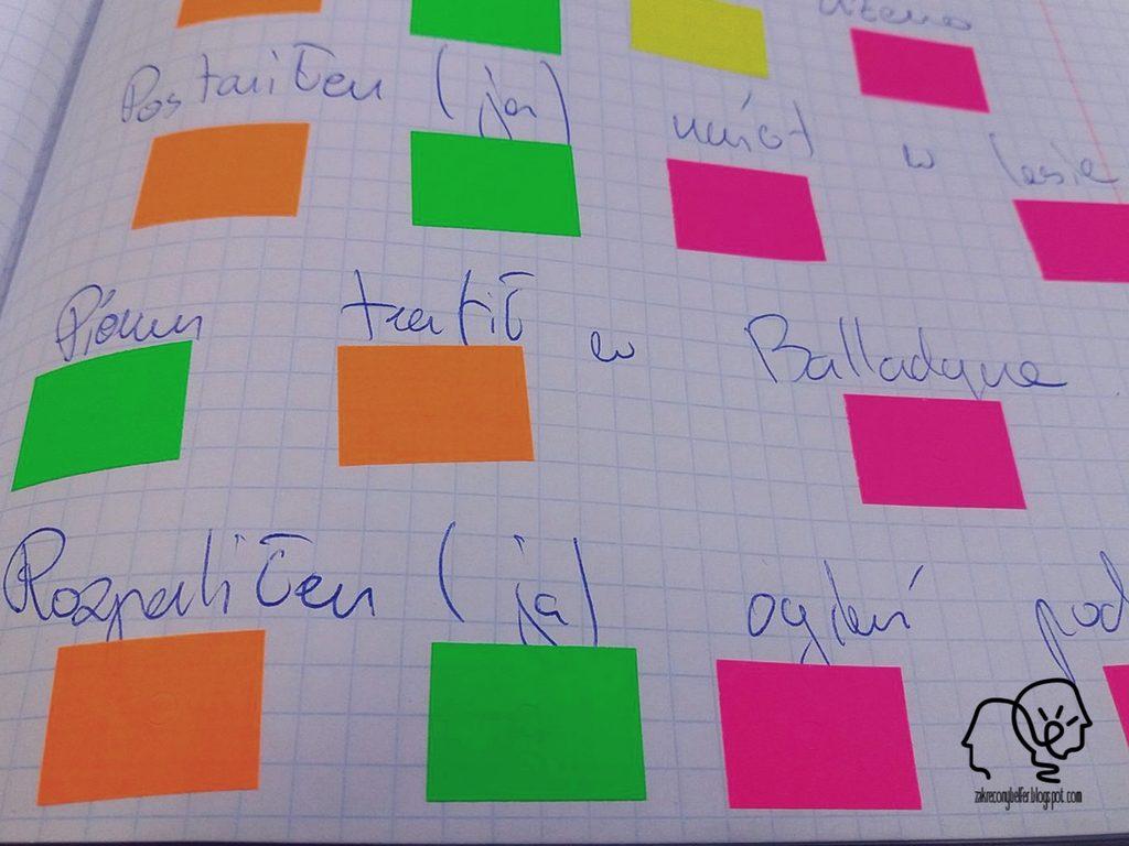 kodowanie kolorami