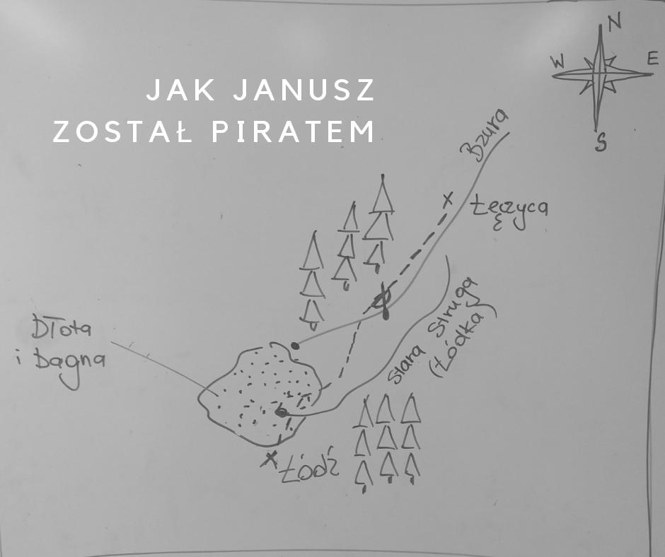 jak Janusz został piratem